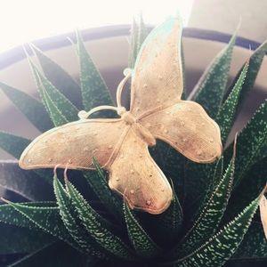 Gold 🦋 Butterfly Brooch